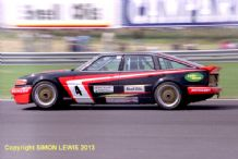 "ROVER SD1 Dennis Leech at Silverstone BTCC 1987 10x7"" photo"